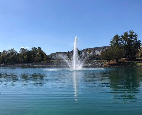 Pine Lake Park Fountain