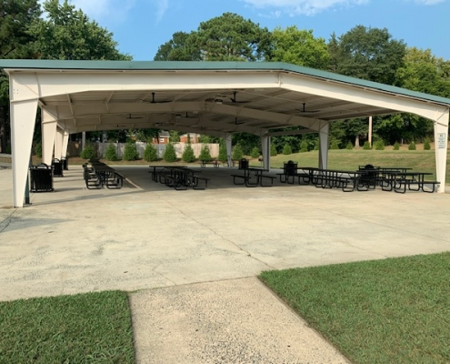 Pineville Lakepark shelter